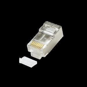 LogiLink :: Produkt Modularstecker CAT5 geschirmt mit Einfädelhilfe ...