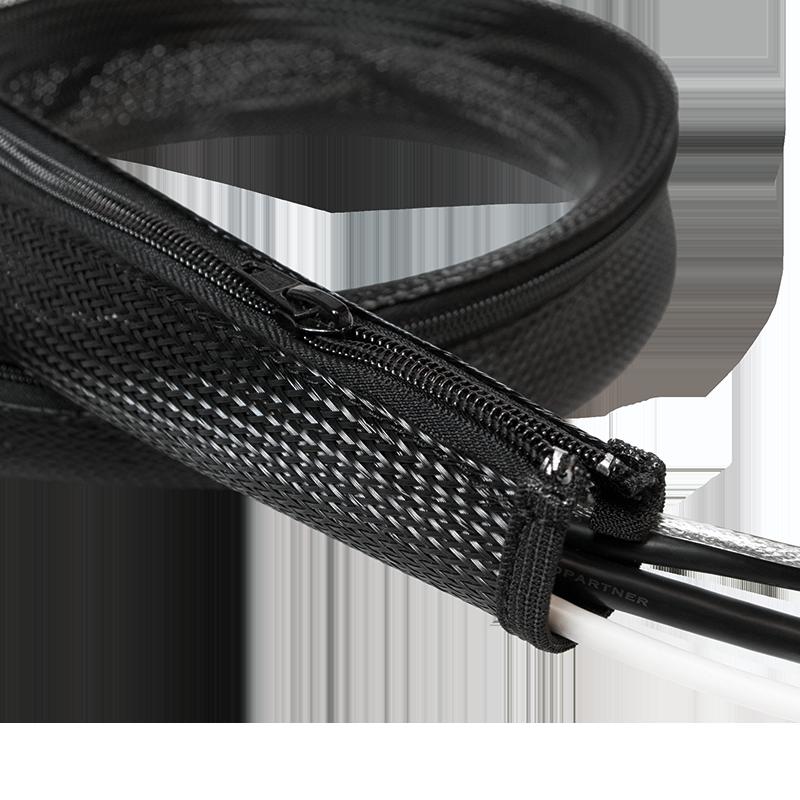 Fantastisch LogiLink :: Produkt Flexibler Kabelschutz mit Reißverschluss  JS91