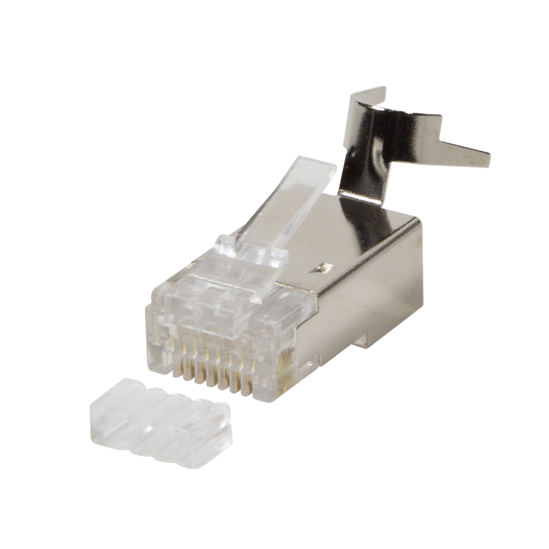 logilink produkt steckverbinder cat 6a rj45 f r cat 7 cat 6a und cat 6 kabel 10er set. Black Bedroom Furniture Sets. Home Design Ideas