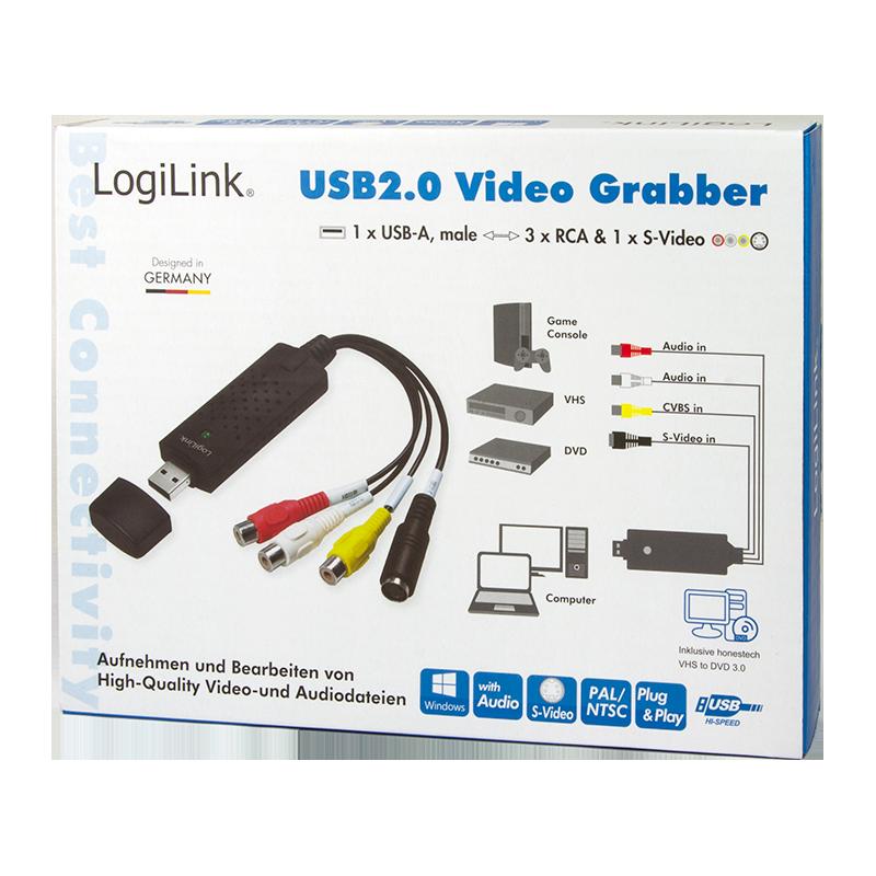 LogiLink :: Produkt USB 2.0 Audio und Video Grabber |19.06.2018